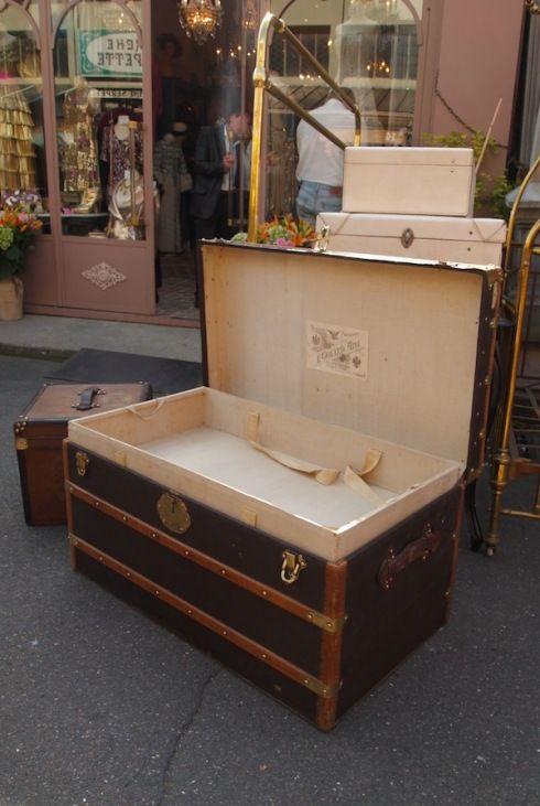 Goyard trunk
