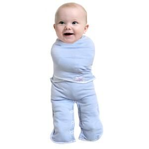 Convertible Baby Swaddling Suit.... aka crazy baby straight-jacket ...