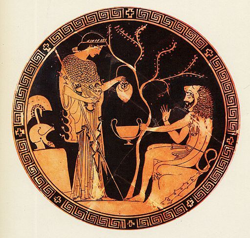 Image result for herakles and athena