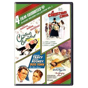 4 Film Favorites: Classic Holiday Collection, Vol. 1 - Boys Town / A Christmas Carol (1938) / Christmas In Connecticut (1945) / The Singing Nun