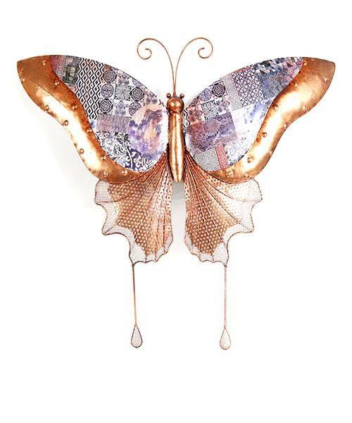 ديكور جدارى على شكل فراشة Insects Moth