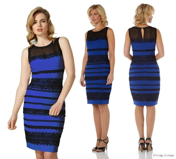 """The Dress"" Drama, Celebs, Brands and The Frock (Which Comes in 4 Colors). 