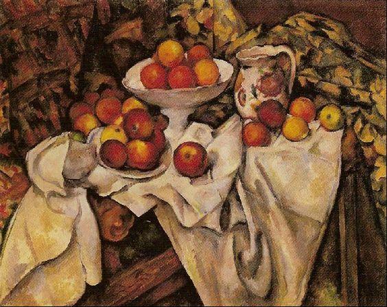 scan84201245341.jpg (640×508) Pommes et Oranges  Paul Cézanne