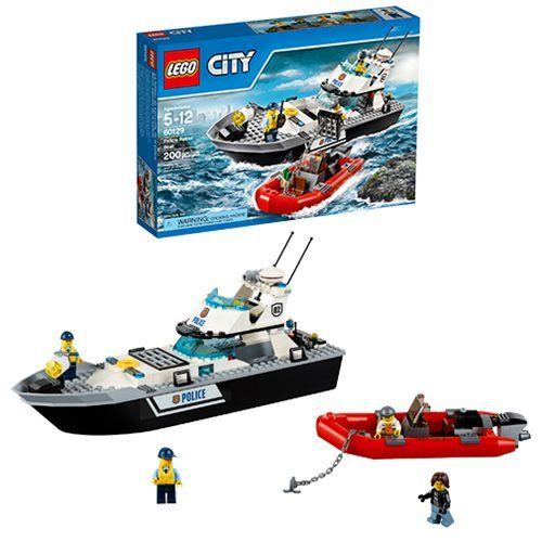 Lego City Police 60129 Police Patrol Boat Lego City Lego City Police Lego