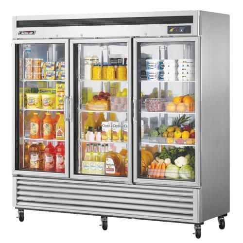 Kitchen Supplies Stainless Exterior And Interior 78 1 4 In H X 81 7 8 In W X 30 3 8 In Depth A Liftgate Will Lower The Product To Glass Door Refrigerator Glass Door Refrigerator