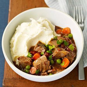 Slow Cooker Home-Style Stew