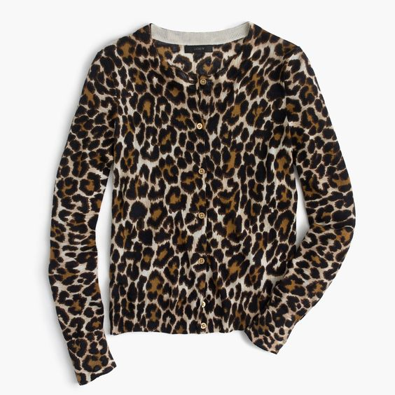 It's always a good time when J.Crew rolls out some leopard prints.