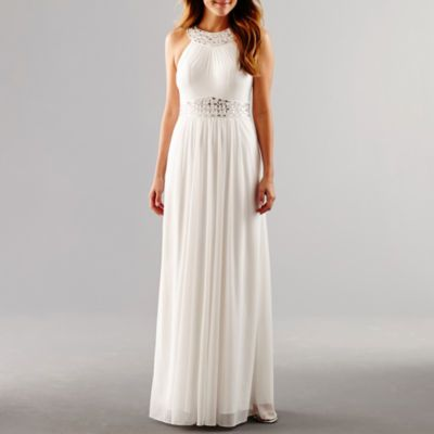$74 Buy One by Eight Sleeveless Beaded Formal Gown at JCPenney.com today and Get Your Penney's Worth. Free shipping available