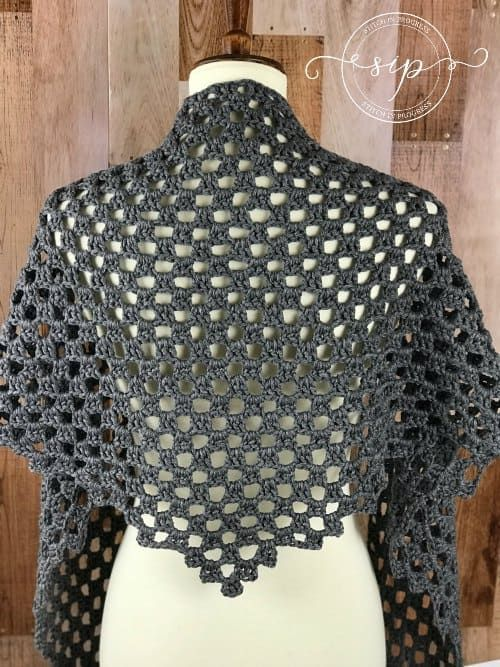 Pin On Crochet Shawls All Types Poncho Going
