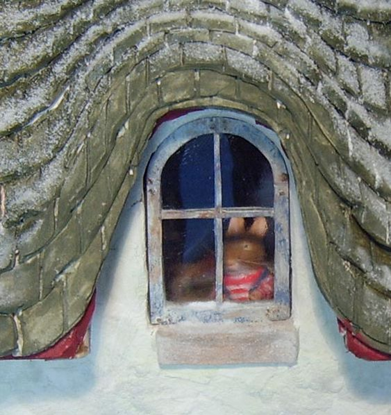 Mouse House window detail