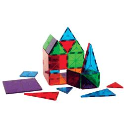 Clear Colors Magna Tiles: would be fun on the light table