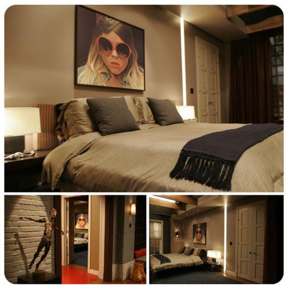 color story chuck bass bedroom decoration gossip girl