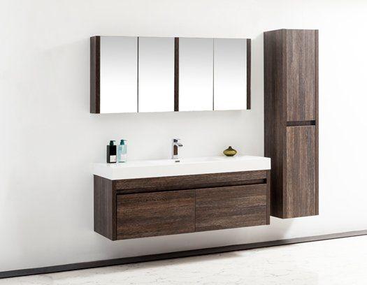 Rosas 59 Single Bathroom Vanity Set, 59 Bathroom Vanity Single Sink