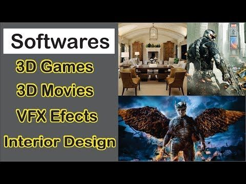 Game Development 3d Movies 3d Architecture 3d Interior 3d Modeling Soft Best 3d Software Software 3d Modeling Software