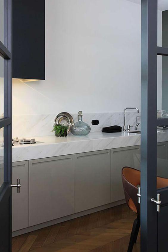 Marmer kitchen wilt u graag een stijlvolle keuken, een stoere ...