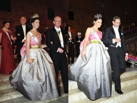 Crown Princess Victoria of Sweden and Queen Silvia of Sweden- TownandCountrymag.com