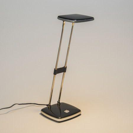 Bürolampe Escrito schwarz: Die Escrito - Schreibtischlampe hat 3,6 Watt. ist sehr sparsam und bietet ein schönes, warmes Licht. Die Lampe ist höhenverstellbar und einfach einzurichten. #Büroleuchte #innenbeleuchtung #lampe #leuchten #Briloner