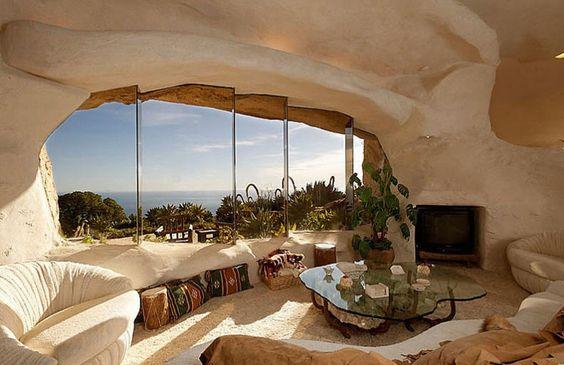 Une maison troglodyte d'exception en Californie
