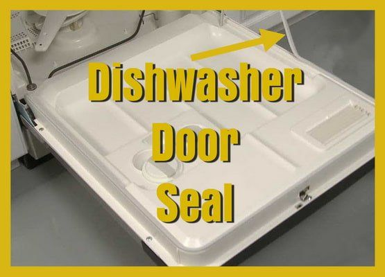 Dishwasher Is Leaking Water From The Door How To Fix Dishwasher Repair Dishwasher Leaking Replace Dishwasher