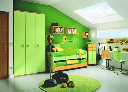 yellow green kids rooms ideas green paint and children bedroom
