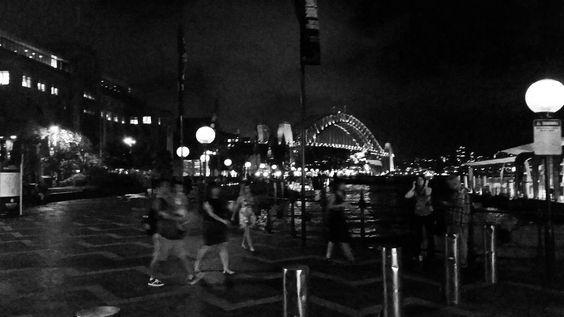 SYDNEY  #sydney #australia #sydneyharbour #harbourbridge #harbourcity #harbour #city #tourist #travel #travelgram #travelling #summer #beautiful #sydneyharbourbridge #home #aussie #straya #circularquay #therocks #tourismaustralia #seeaustralia #night #lights #bridge #pier #sydneyfc #dark #sydneycity #bay #museum by afimmano http://ift.tt/1NRMbNv