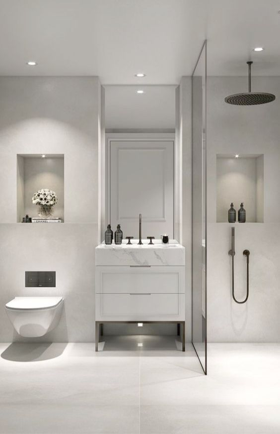 Bathroom Ideas Long Narrow Space Bathroom Sink Ebay Bathroom