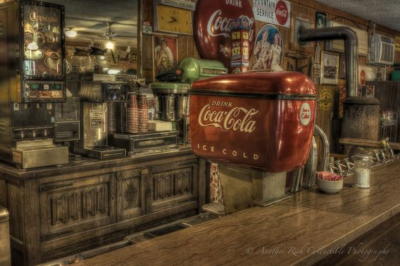 Old time soda fountain when was the last time you sat at for Old fashioned ice cream soda fountain