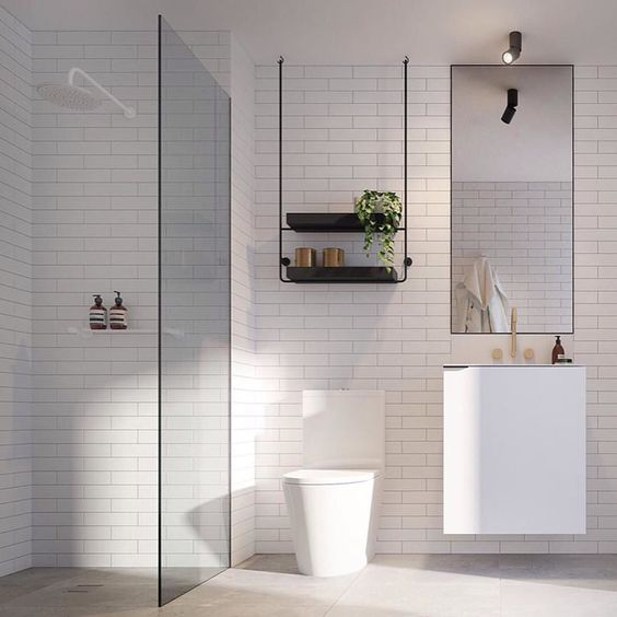Bathroom inspo via @dko_architecture ... #bathroom #dkoarchitecture #urbancouturedesign