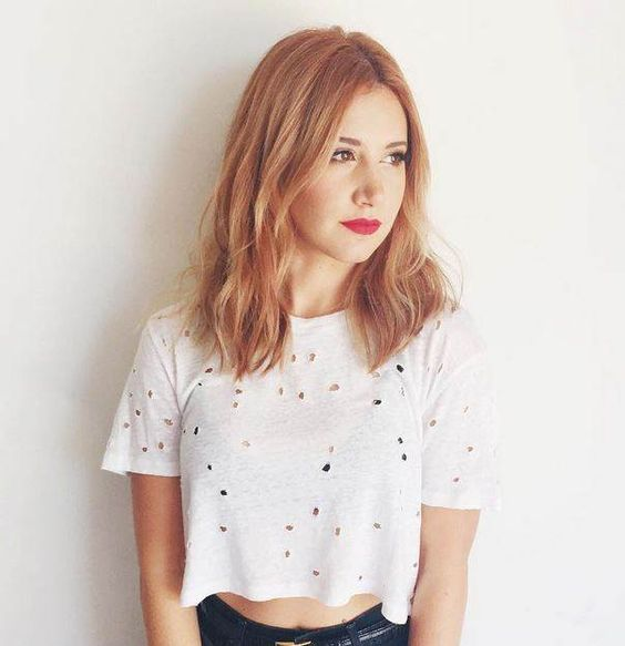 Ashley Tisdale Debuts New Summer Hair Color