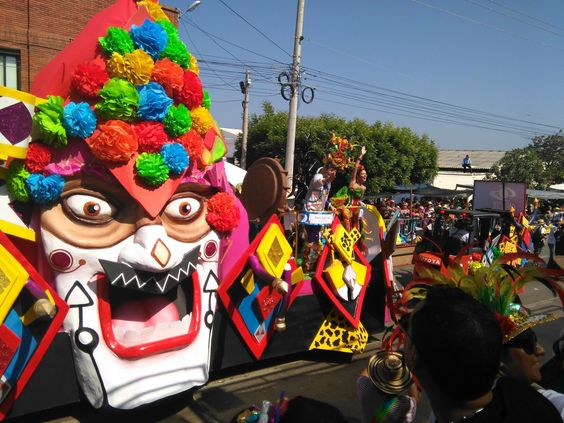 Barranquilla, Colombia is home to the second largest Carnaval celebration in the world.