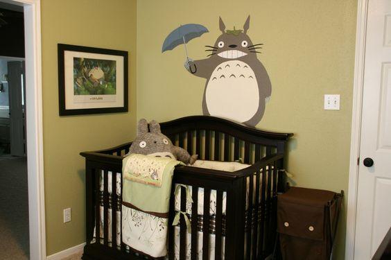 Totoro Nursery | For the Love of Hayao Miyazaki