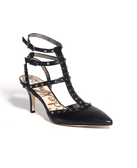 Sam Edelman 'Ollie' Studded Ankle Strap Heels | Ankle Straps and ...