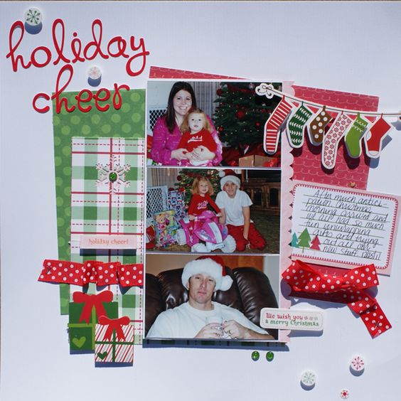 Holiday Cheer - Scrapbook.com
