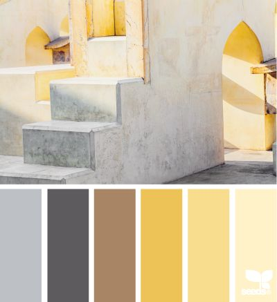 Design Seeds Yellow And Color Palettes On Pinterest