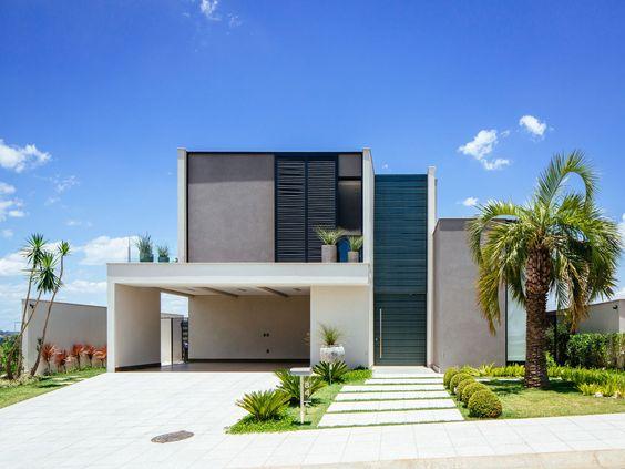 Projeto de Casa - Mont Blanc - Barros - Fachada frente | 24.7 Arquitetura Design