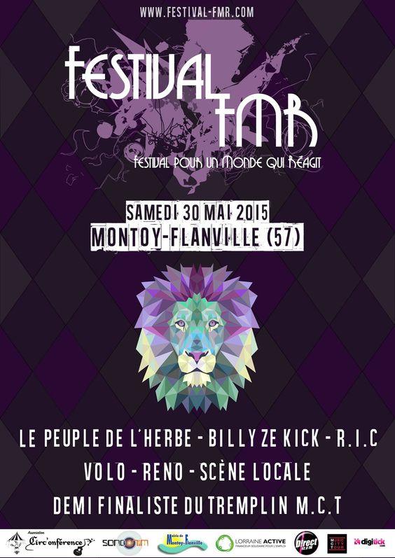 L'affiche du Festival FMR !