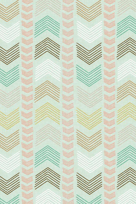 Colorful Fabrics Digitally Printed By Spoonflower Herringbone Geometric Stripe In Summer Pastels Surface Design Fabric Pattern Wallpaper