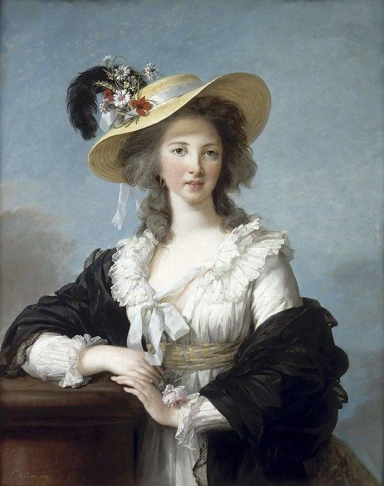 Виже-Лебрён, Мари Элизабет Луиза - Иоланда-Мартина-Габриэль де Поластрон, герцогиня де Полиньяк. Версальский дворец.