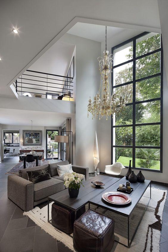 beau deco chambre adulte avec fenetre aluminium ou pvc. Black Bedroom Furniture Sets. Home Design Ideas