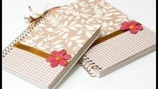 como decorar meu caderno - YouTube