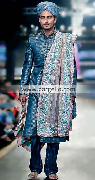 Pakistani indian ethnic haute couture sherwanis asian for Haute couture men