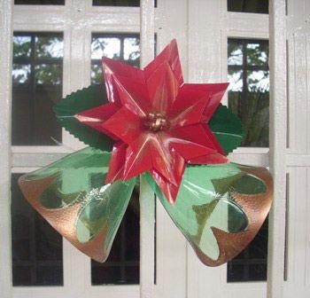 adornos navidad reciclaje como hacer adornos de navidad navidad con reciclados plsticos adornos navideos reciclados reciclando materiales navidad