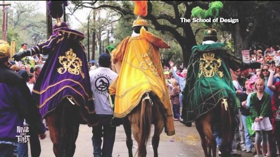 Equines are a Mardi Gras mainstay - http://streetiam.com/equines-are-a-mardi-gras-mainstay/