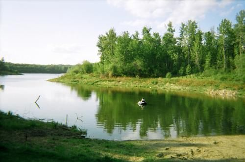Chickakoo Lake    A great place for trail riding, hiking, and wildlife spotting