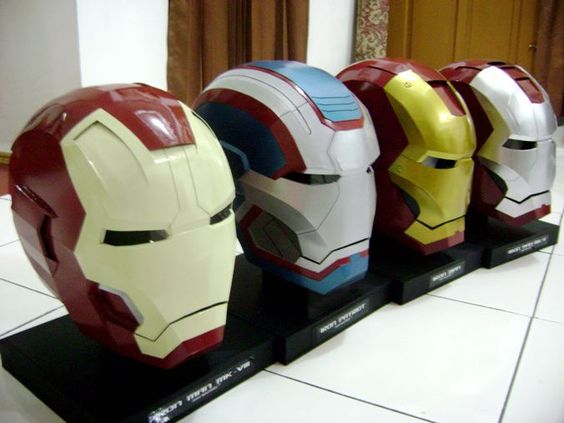 Iron man, Helmets and Projects on Pinterest