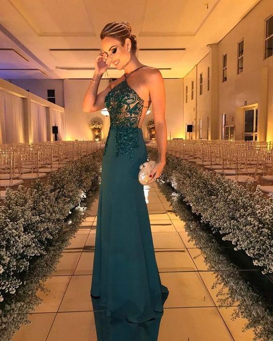 vestidos longos ousados luminoso