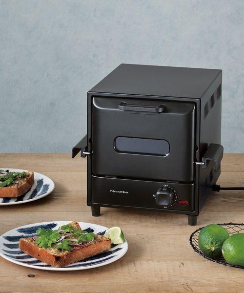 オーブン トースター レコルト 縦型 コンパクト
