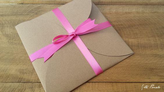 ♡ Srta Pomelo DIY: DIY: cómo hacer un sobre regalo + talones VALE POR...