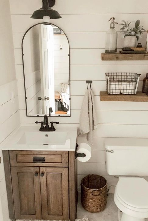 30 Simple Diy Rustic Bathroom Decor You Should See In 2020 Rustic Bathroom Vintage Bathroom Decor Rustic Bathrooms