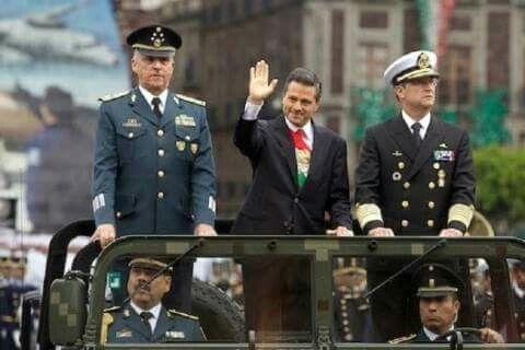 Presidente De Mexico Y Secretario De La Defensa Nacional Gral Salvador Cienfuegos Zepeda Ejercito Mexicano Ejercito Presidentes
